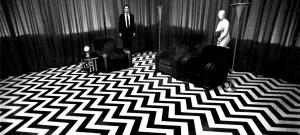 Kadr z filmu Twin Peaks