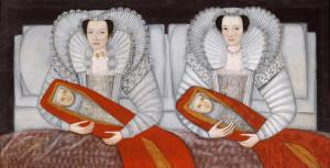 """""""The Cholmondeley Ladies"""", ok. 1600-10"""