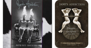 Okładka zespołu Jane's Addiction oraz plakat Jane's Addiction