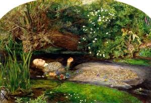 Ofelia - obraz Johna Everetta Millaisa