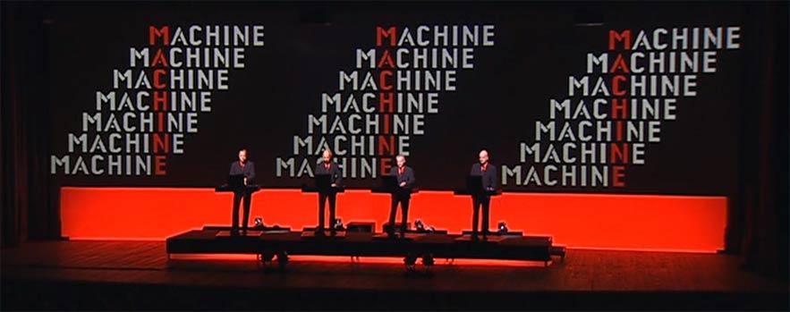Kraftwerk concert