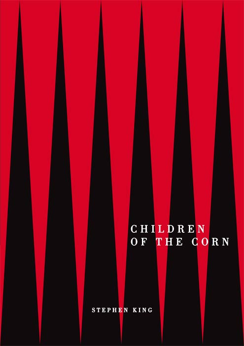 Daniel Chudy - book cover for Stephen King's 'Children of the Corn'