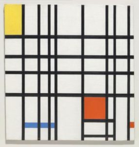 Piet Mondrian - Composition with Yellow, Blue and Red, 1937–42