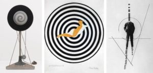 Marcel Duchamp, Rotary Desmisphere (Precision Optics), Paris, 1925; Francis Picabia, Optophone I, 1921-1922; George Grosz, Dadabild, 1919-1920