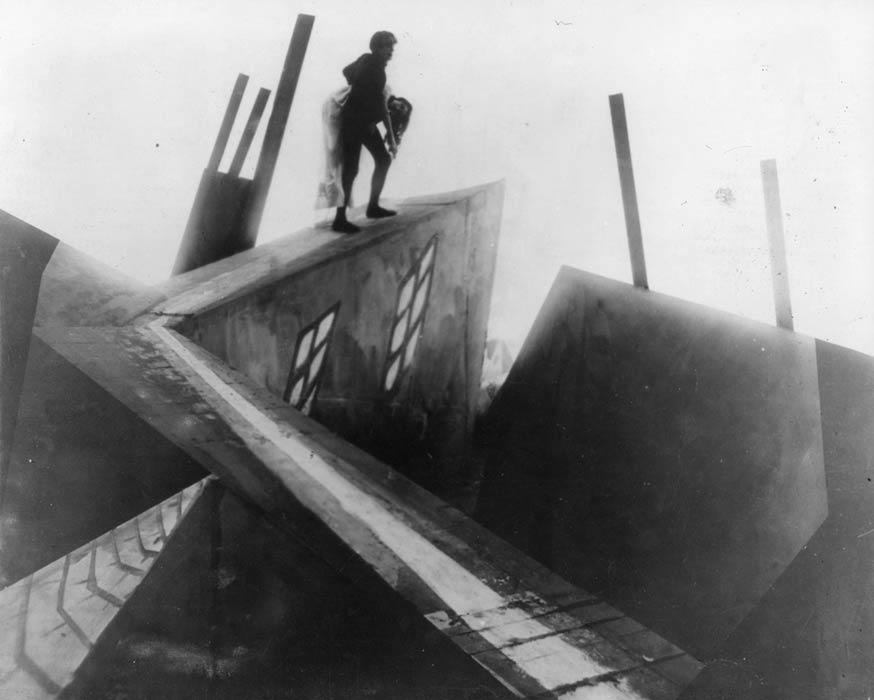 Robert Wiene - The Cabinet of Dr. Caligari, 1920. Film still