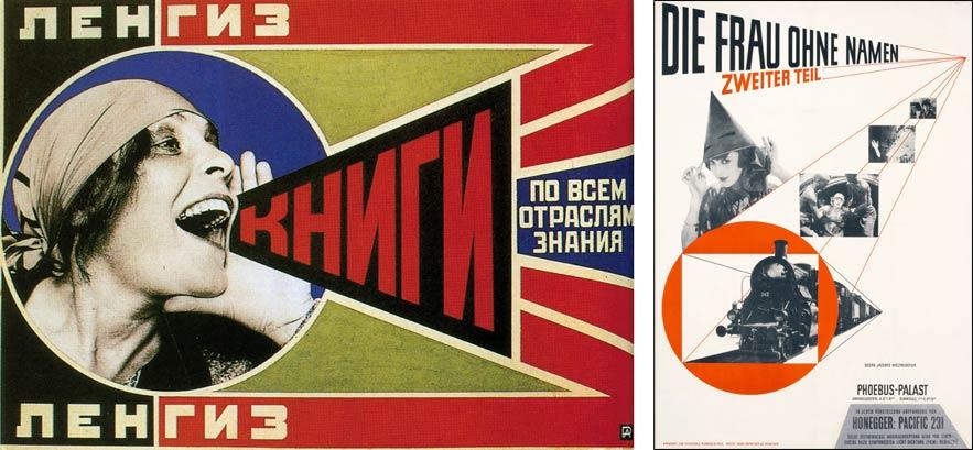 Alexander Rodhenko; Jan Tschichold - poster