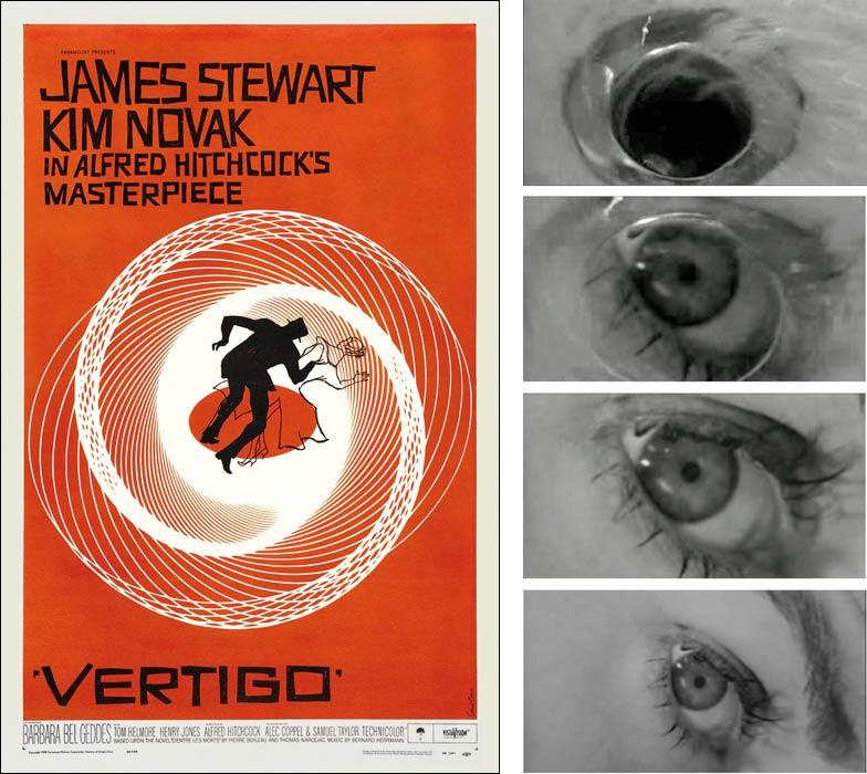 Saul Bass - poster for Alfred Hitchcock's 'Vertigo'