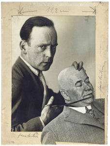 John Heartfield – self-portrait