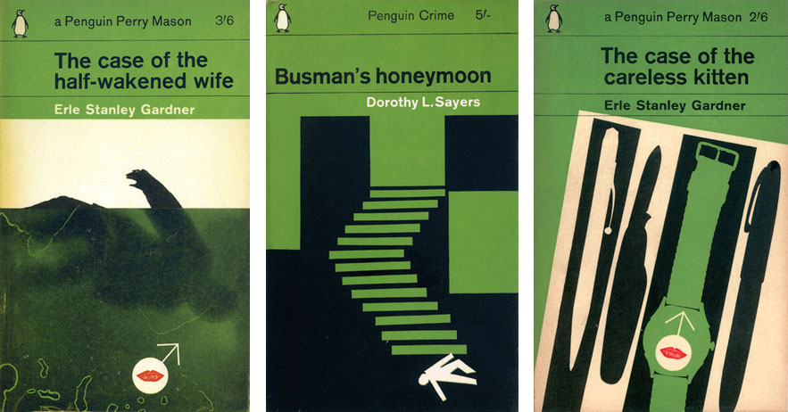 Book covers by Romek Marber