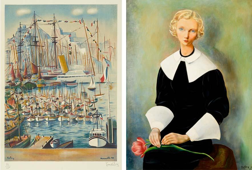 Marseilles Harbour, 1950; Ingrid, 1932