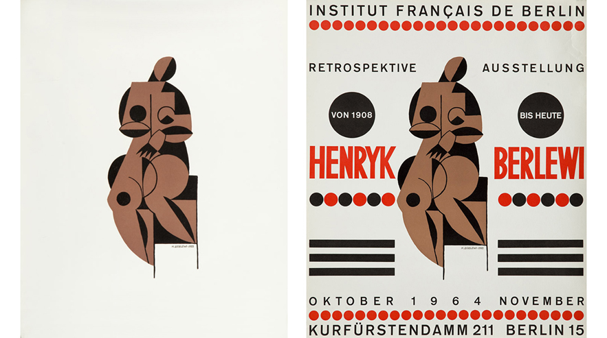 Henryk Berlewi – lithography, 1922; poster, 1964