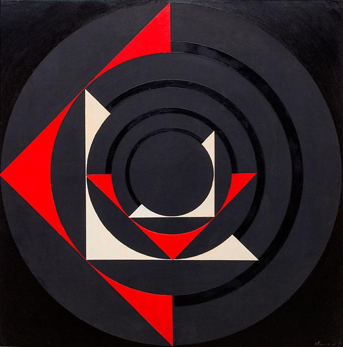 Hermelindo Fiaminghi – Untitled, 1956