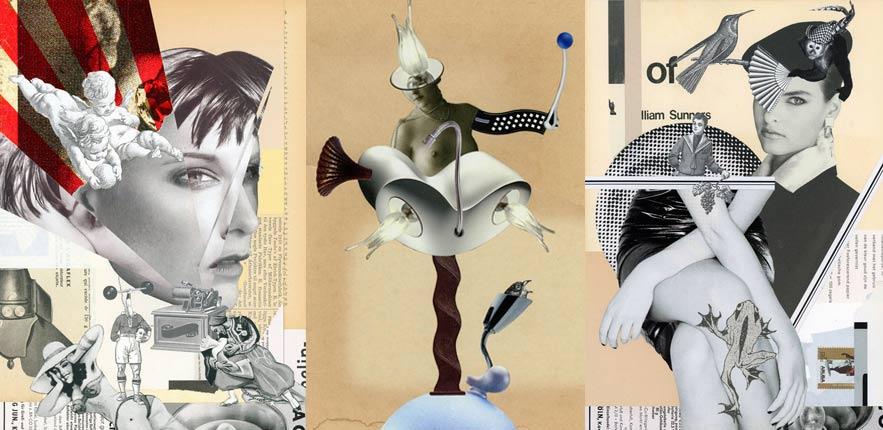 Koji Nagai - collage