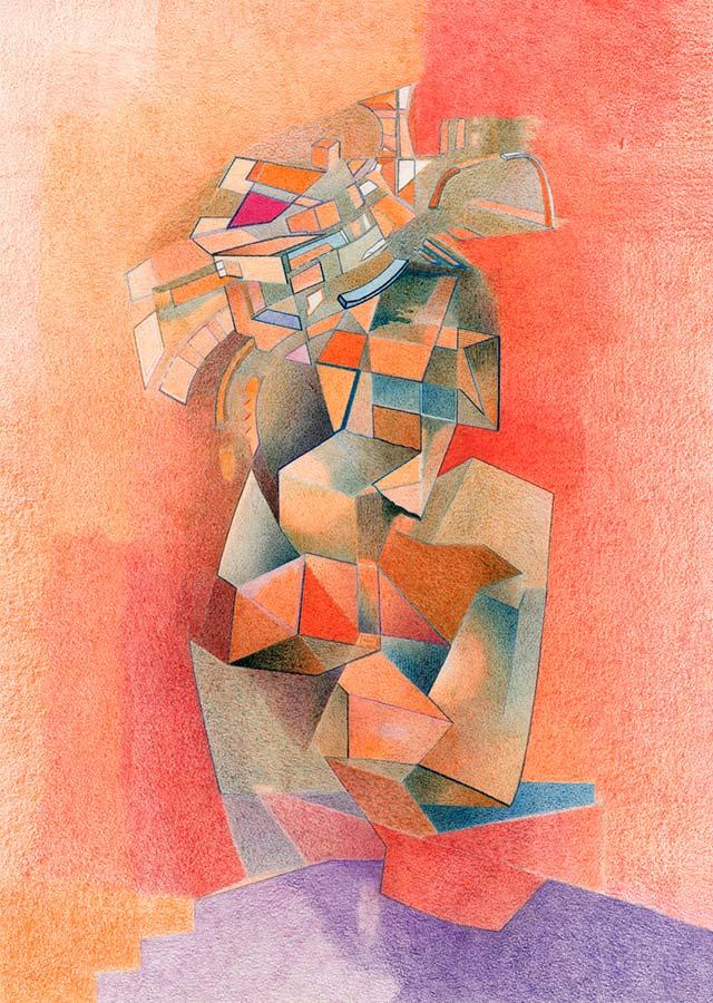 Renzo Campodonico, The geométric thinker