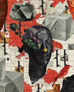 Rafal Kucharczuk - International Collage Art Exhibition in Poland Retroavangarda Gallery, Warsaw