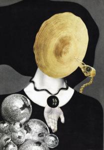 Leo Litha - International Collage Art Exhibition in Poland Retroavangarda Gallery, Warsaw