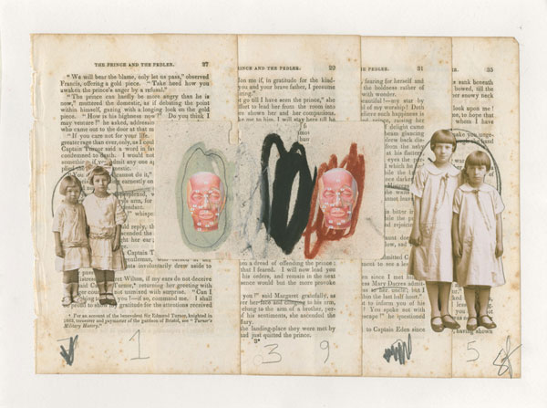 Alvaro Sanchez - International Collage Art Exhibition in Poland Retroavangarda Gallery, Warsaw