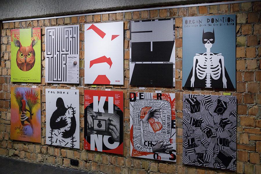 Wystawa plakatu Ecuador Poster Bienal 2019 w Centrum Spotkania Kultur w Lublinie