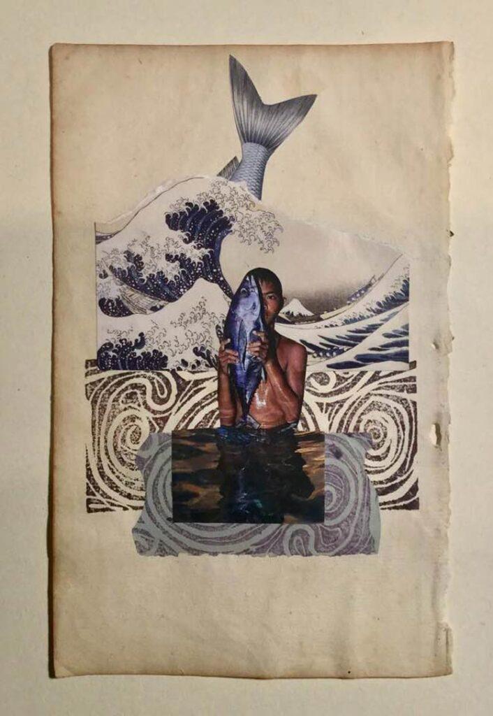 Antonio Martin Ferrand - collage